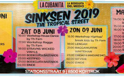 Kizomba workshop tijdens Sinksen Kortrijk – Tropical Street Party